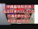 沖縄基地反対派がキチガイすぎる!安倍首相と日の丸踏みつける