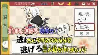 【ニコカラ】逃げろ!現実だ【弱音ハク・亞北ネル】_ON Vocal