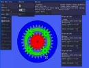 【ニコニコ動画】Phunで遊星歯車機構を解析してみた