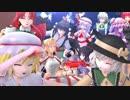 【第15回MMD杯本選遅刻組】 鬼vs吸血鬼 【東方MMD】 thumbnail