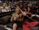 WWE - 2001年以降のRAWでの最高視聴率を記録したエッジ&リタの祝賀会