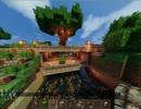 【Minecraft】海に囲まれた島に街を作る part-3-2