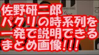 佐野研二郎パクリの時系列を一発で説明できるまとめ画像がすごすぎるw