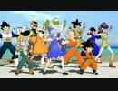 【MMD】チルノのパーフェクトさんすうDRAGON BALL - 孫悟飯とその仲間たち