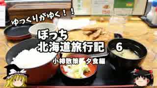 【ゆっくり】北海道旅行記 6 夜の小樽散策 夕食編 thumbnail