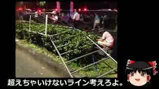 【ゆっくり保守】16日反安保集会の暴力性