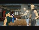 【APヘタリアMMD】ヒャッハーが貴族と姐さんにナイフを突きつける