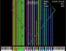 【黒MIDI】Bad Apple!! Full 合作2弾を塾のPCで再生した結果