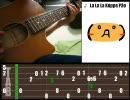 【ニコニコ動画】【ソロギター】 らららコッペパン 【流れるTAB譜】を解析してみた