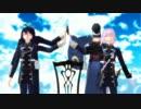 【MMD刀剣乱舞】豊臣組でunravel【一期一振、三日月、鯰尾、骨喰中心】