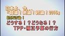 1/3【経済討論】どうする!?どうなる!?TPP・補正予算の行方[桜H27/10/10] thumbnail