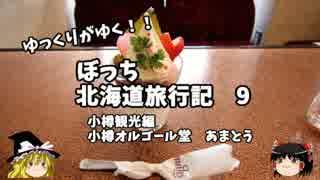 【ゆっくり】北海道旅行記 9 小樽観光編 オルゴール堂 あまとう thumbnail