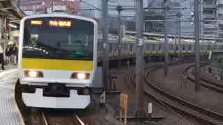 飯田橋駅(JR中央緩行線)を発着する列車を撮ってみた