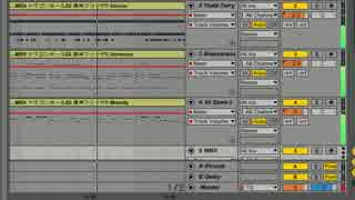 【DTM】Ableton Liveの自動耳コピ機能で激神フリーザ