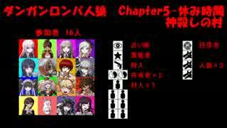 【ダンガンロンパ人狼】Chapter5-休み時間