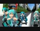 【MMD】ミクさん達4人が踊る「恋は渾沌の隷也」