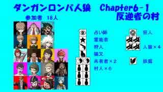 【ダンガンロンパ人狼】Chapter6-1【反逆