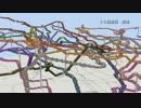 【Minecraft】東京メトロ&都営地下鉄の3D路線図を作ってみた