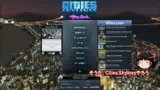 リアルを追求するCities:Skylines【ゆっく