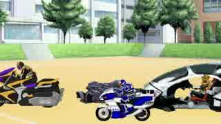 【MUGEN】正統派ライダータッグでスコアアタック大会【車破壊】