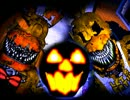 Five Nights at Freddy's 4 -ハロウィンエディション- Jumpscare(驚かし)集