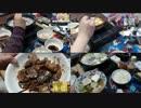 4日間の晩飯で豚肉料理を食す