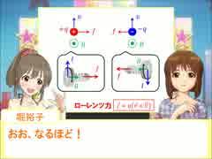 雪歩と学ぶ高校物理4-3-4【ローレンツ力】