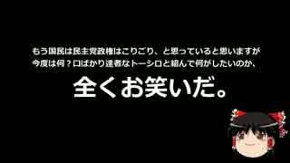 【ゆっくり保守】民主党、SEALDsに応援要請www