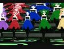 Carry me off (MMD) - Kasane Teto, Kasane Keko, Amane Luna, Defoko(Utane Uta), Kikyuune Aiko