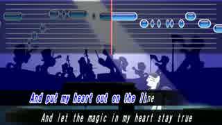 【My Little Pony】 The Magic Inside カラオケ風歌詞, 音程