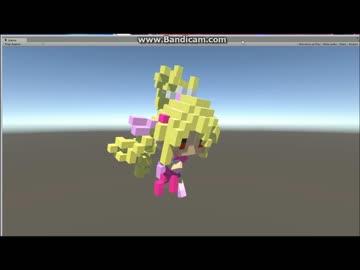 【12分で】MagicaVoxelモデルをUnityで動かした【できる】