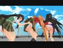 【MMD】女の子4人でぺろぺろしたい