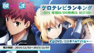年間アニソンランキング 2015 BD/DVD BEST 100【ケロテレビ】1-50