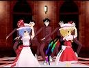 第76位:【東方MMD】スカーレット姉妹でうしろゆびさされ組 thumbnail