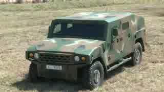 韓国の新型軍用車両 kia km1