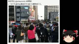 【ゆっくり保守】20日嫌韓デモ、有田芳生、五寸釘ほなみが大発狂。