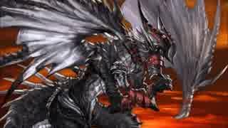 【グラブル】プロトバハムート戦BGM 『黒銀の翼』(完全版)