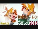 鏡音リン・レン年間総合ランキング2015 Part.2 thumbnail