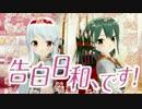 【艦これMMD】 翔鶴&瑞鶴で告白日和、です!【MikuMikuDance】