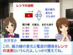 雪歩と学ぶ高校物理4-4-1【電磁誘導】