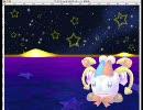 星のカービィスーパーデラックスのマルクをフォトショップで描いてみた