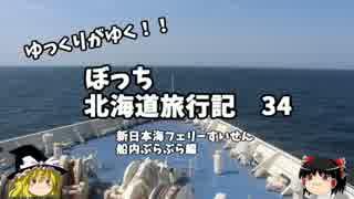 【ゆっくり】北海道旅行記 34 新日本海フェリーすいせん 船内放浪 thumbnail