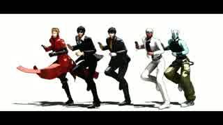 【MMDトライガン】シェアハピ+NB【血界MMD】