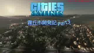 【Cities:Skylines】霧丘市開発記 Part03
