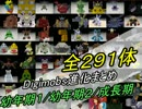 【Minecraft】全291体!デジモンと進化条件まとめ!1/4【Digimobs】