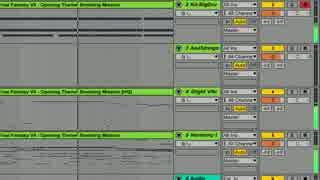 Ableton Live Suite付属の音源&耳コピ機能でFF7オープニング~爆破ミッション