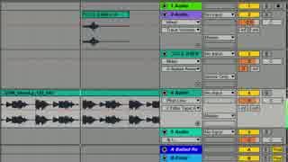 【DTM】Ableton Liveのオーディオスライス機能で丹下桜MIX