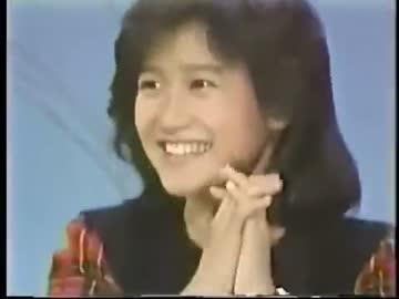 岡田有希子さん 三枝の爆笑美女...