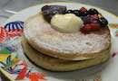 【深キョンドラマの味を再現!】練乳あんこベリーパンケーキ