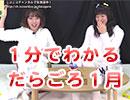 【飯田里穂、徳井青空】1分でわかる「りっぴーそらまるのだらだらごろごろ」1月